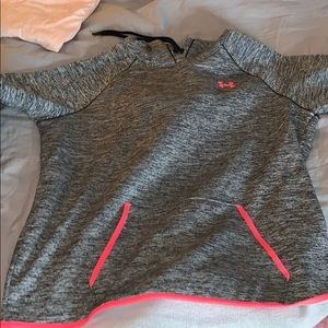 Fleece lined under armour hoodie